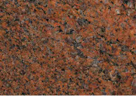 Tiles and Slabs in Granito Rosso Multicolor