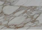 Natural Stone Step Riser In Marmo Calacatta Cremo