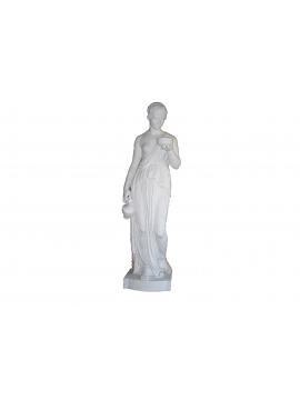 Statue – Thorvaldsen Ebe in Marmo Bianco Statuario