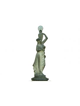 Statua – Venere Portatrice d'Acqua in Pietra di Vicenza Dx