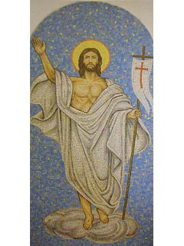 Artistic Mosaic – Cristo Risorto su Nuvola