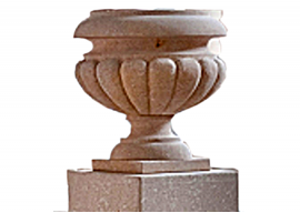 Vaso In Pietra Gialla di Vicenza Levigata V-003-A