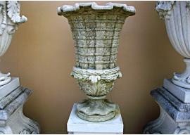 Vase In Pietra Bianca di Vicenza Anticata V-005-A