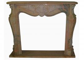 Fireplace in Marmo Rosa Portogallo F-0050-AL1