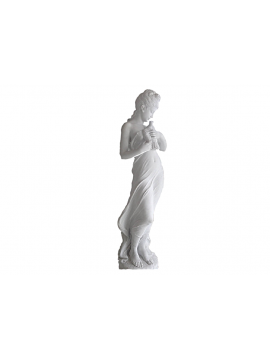 Statue – Venere con Colomba in Marmo Bianco Statuario